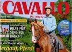 Presseschau CAVALLO April 2012 – Bergtraining, mehr Schwung in den Pferderücken, klassische Dressur und vieles mehr